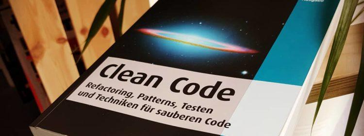 """Buch """"Clean Code"""""""
