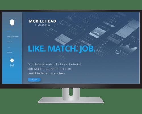 Mobilehead Webseite