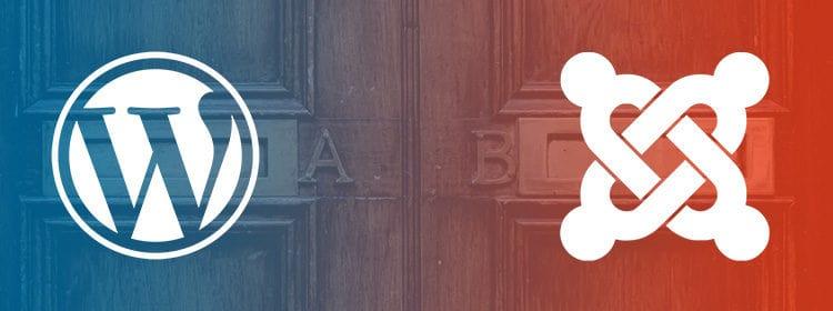 Artikelbild WordPress vs. Joomla!