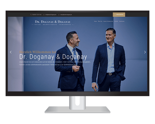 Dr. Doganay & Doganay Webseite